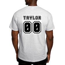 TAYLOR JERSEY 00 Ash Grey T-Shirt