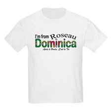 Roseau Dominica  Kids T-Shirt