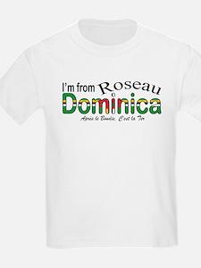 Roseau Dominica  Kids T-Shirt