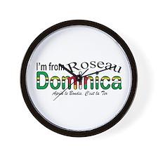 Roseau Dominica  Wall Clock
