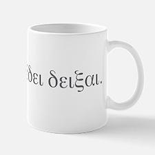 QED - Quod erat demonstrandum Mug