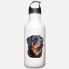 bitchhead2glow.png Water Bottle