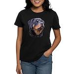 bitchhead2glow.png Women's Dark T-Shirt
