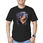 bitchhead2glow.png Men's Fitted T-Shirt (dark)