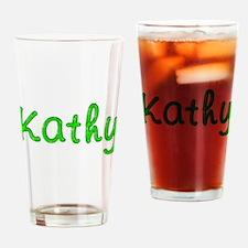 Kathy Glitter Gel Drinking Glass
