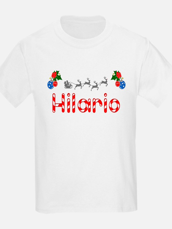 Hilario, Christmas T-Shirt