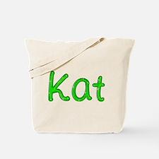 Kat Glitter Gel Tote Bag