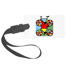 Colorful Bikes Luggage Tag