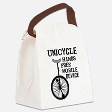 Mobile Device Bold Canvas Lunch Bag