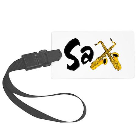 Sax Large Luggage Tag