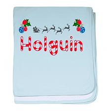 Holguin, Christmas baby blanket