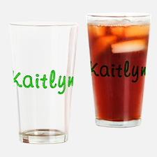 Kaitlyn Glitter Gel Drinking Glass