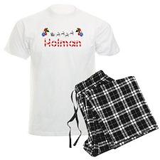 Holman, Christmas pajamas