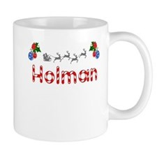 Holman, Christmas Small Mug