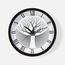Darkyard Wall Clock