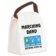 Marching Band Weather Canvas Lunch Bag