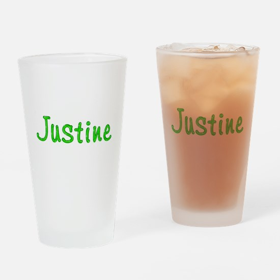 Justine Glitter Gel Drinking Glass