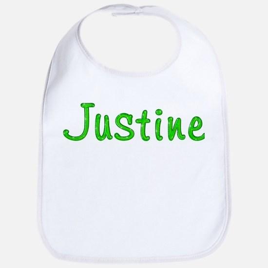 Justine Glitter Gel Bib