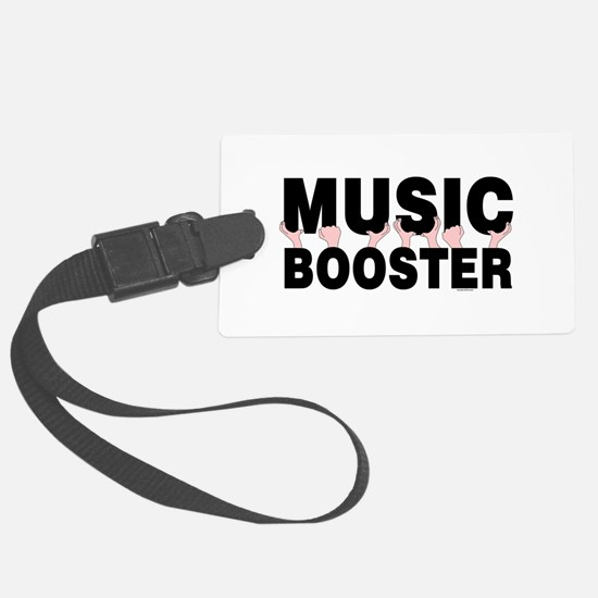 Music Booster Hands Luggage Tag