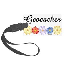 Geocacher Asters Luggage Tag