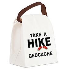 HikSneGeoBUMP.png Canvas Lunch Bag