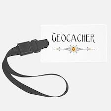 Geocacher Luggage Tag