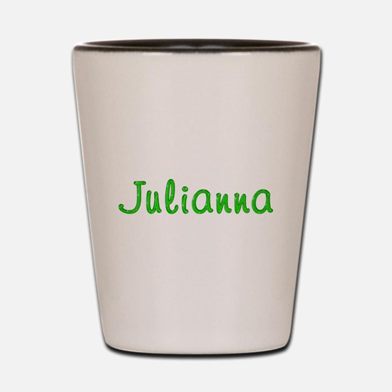 Julianna Glitter Gel Shot Glass