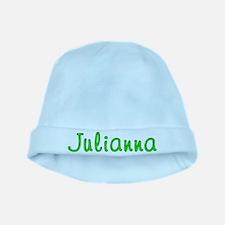 Julianna Glitter Gel baby hat