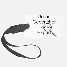 Urban Geocacher Luggage Tag