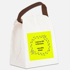 NotHomeMUGyel.png Canvas Lunch Bag