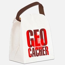 Canadian Geocacher Canvas Lunch Bag