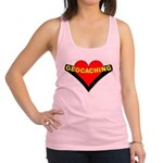 Geocaching Heart Racerback Tank Top