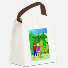 NotGeoXmasTree.png Canvas Lunch Bag