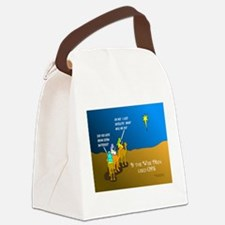 NotMajiLost1.png Canvas Lunch Bag
