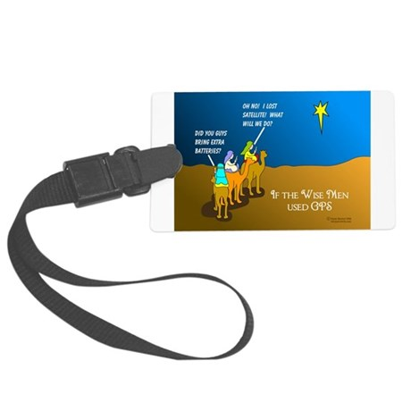 NotMajiLost1.png Large Luggage Tag