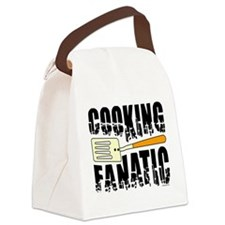 Cooking Fanatic Canvas Lunch Bag