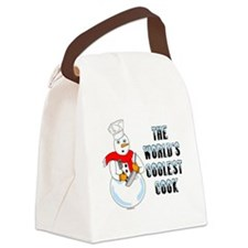 Coolest Cook Canvas Lunch Bag