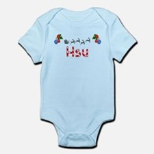 Hsu, Christmas Infant Bodysuit