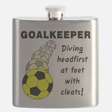 Soccer Goalkeeper Flask