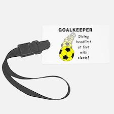 Soccer Goalkeeper Luggage Tag