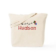 Hudson, Christmas Tote Bag