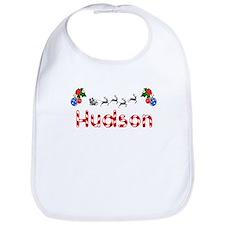Hudson, Christmas Bib