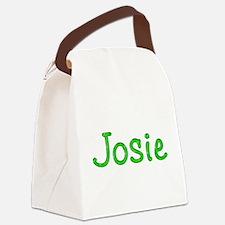 Josie Glitter Gel Canvas Lunch Bag