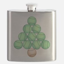 Baseball Tree Flask