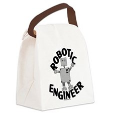 Robotic Engineer Canvas Lunch Bag