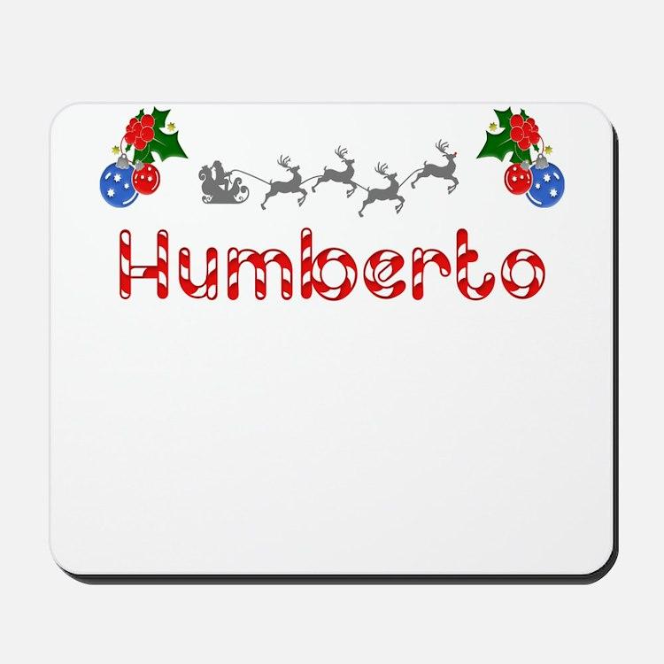Humberto, Christmas Mousepad