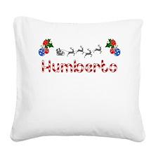 Humberto, Christmas Square Canvas Pillow