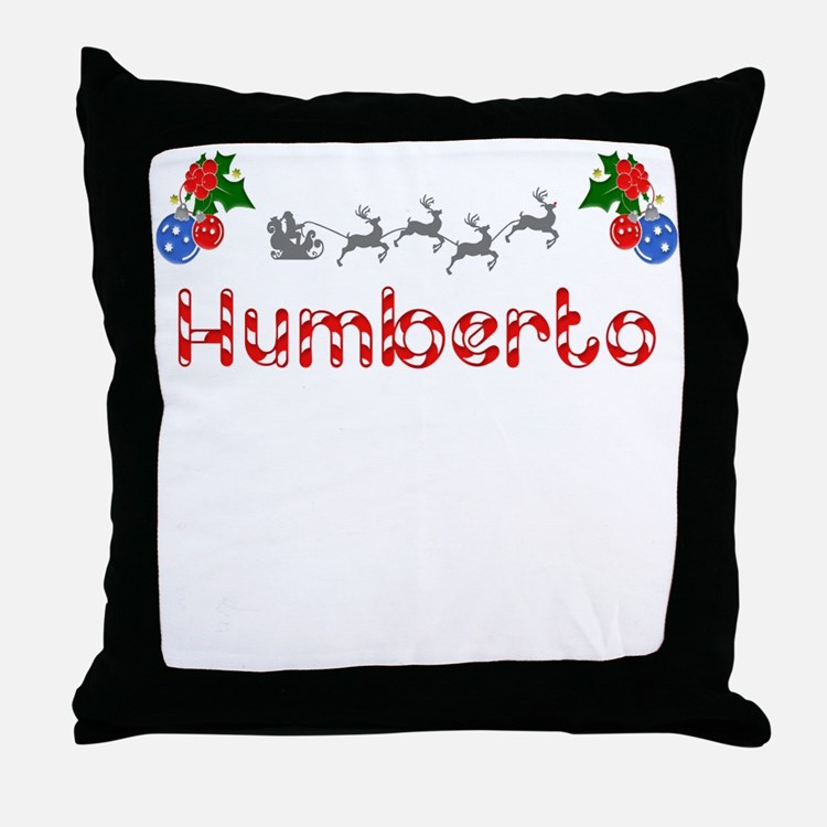 Humberto, Christmas Throw Pillow