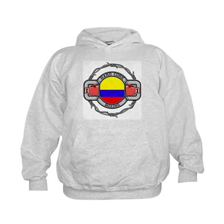 Colombia Boxing Kids Hoodie
