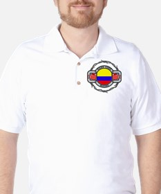 Colombia Boxing Golf Shirt